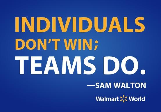 teams - sam walton