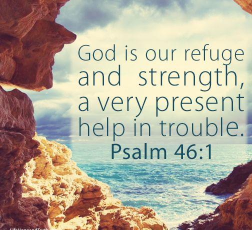 Bible - Psalm 46-1
